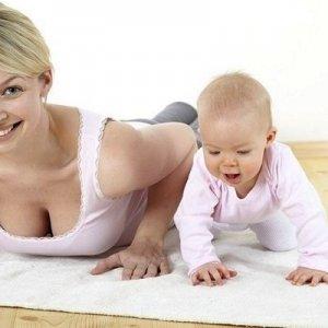 Гимнастика для похудения после родов и кесарево сечения