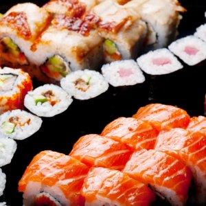 Калорийность роллов калифорния с лососем