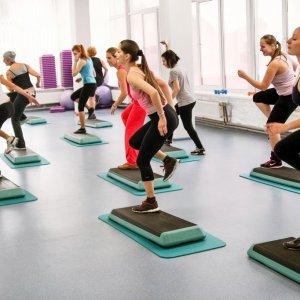 Упражнения на степе для похудения