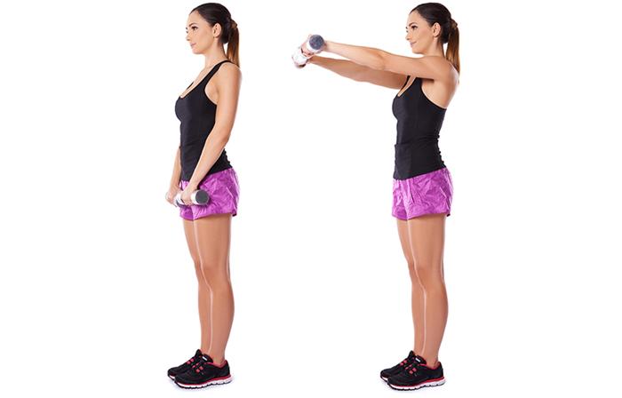 Упражнения для похудения рук: есть ли такие? Самые эффективные упражнения для рук в домашних условиях, принципы тренировок, комплекс занятий - Женское мнение