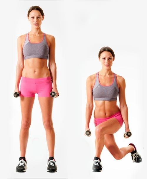 Упражнения для увеличения ягодиц бедер
