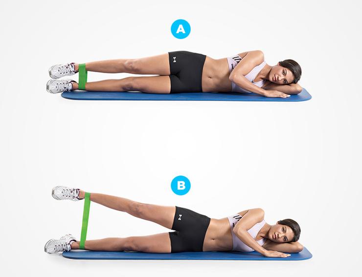 Упражнения для женщин с эспандером