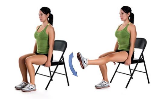 Как похудеть в коленях - процедуры и упражнения