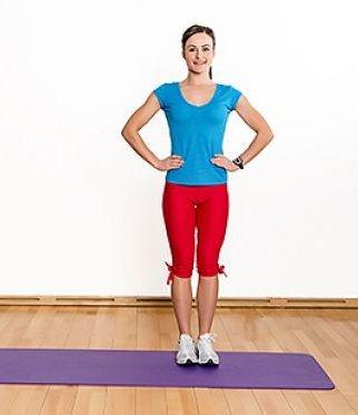 Упражнения для похудения икр ног для девушек
