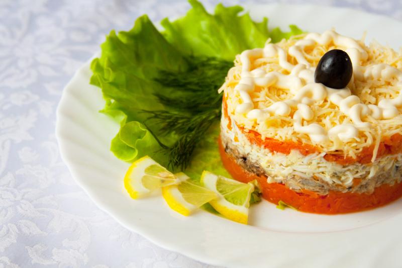 Правильное питание салат с тунцом