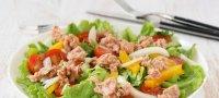 Диетические салаты с тунцом консервированным: пошаговые рецепты