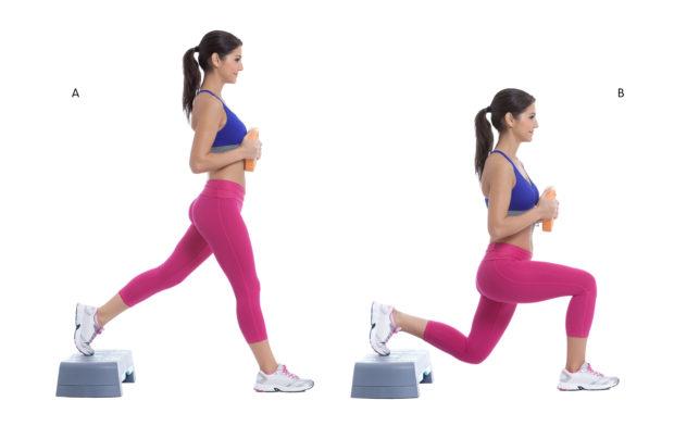 15 лучших упражнений со степ-платформой для похудения – как правильно заниматься дома